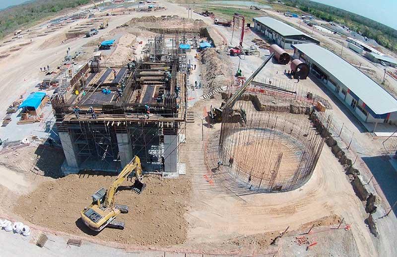 Bolivia inaugura planta de cemento en Santa Cruz