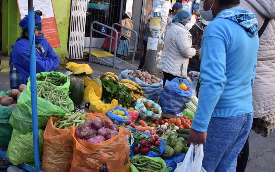 Bolivia registra una inflación negativa a septiembre